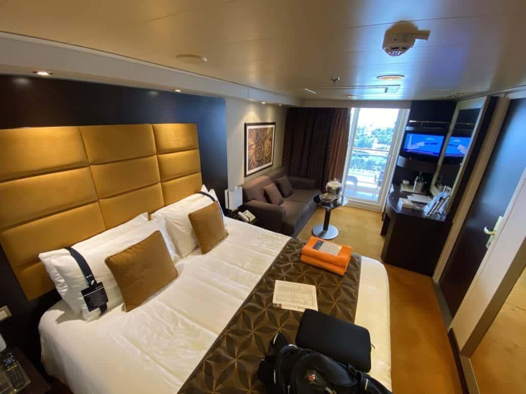 MSC Divina stateroom cabin