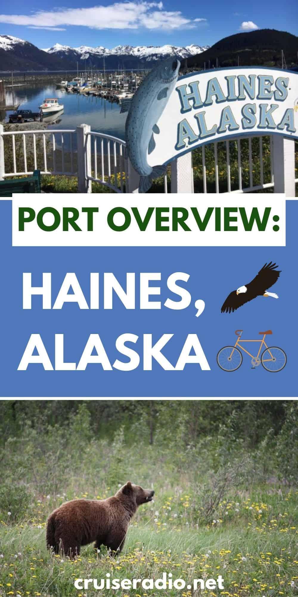 port overview haines alaska #alaska #cruise alaska cruise tips #travel #cruising