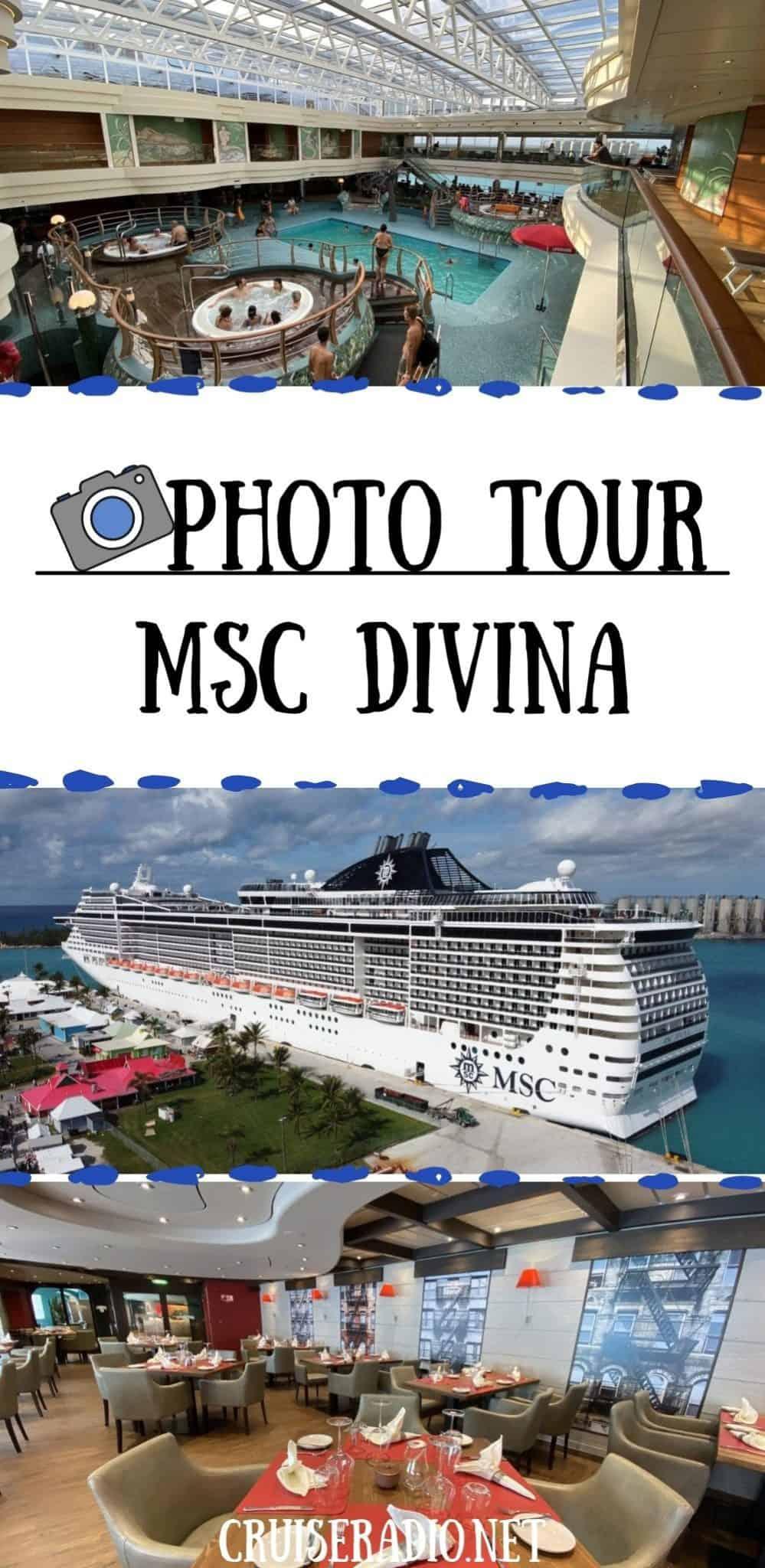 photo tour msc divina