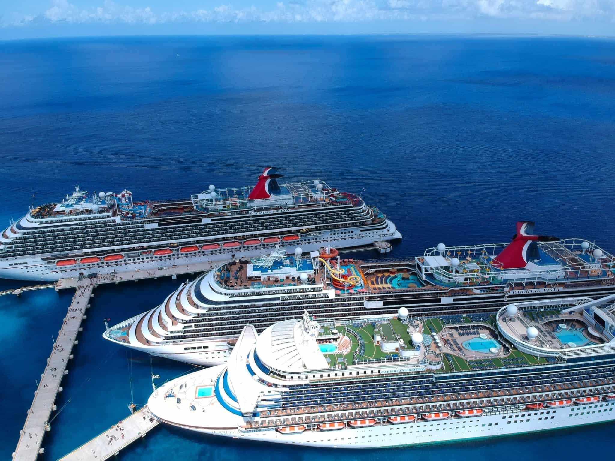 multiple ships