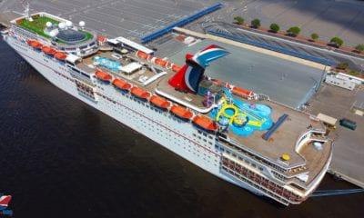Drone Captures Docked Cruise Ships [PHOTOS]