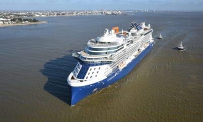 Cruise Line Delivers New Ship Despite Shutdown