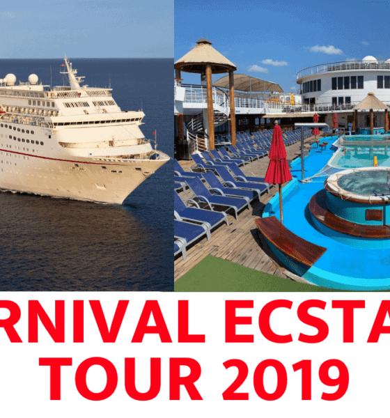 Photo Tour: Carnival Ecstasy Cruise Ship