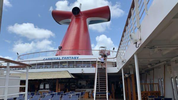 CARNIVAL FANTASY FUNNEL FUN SHIP