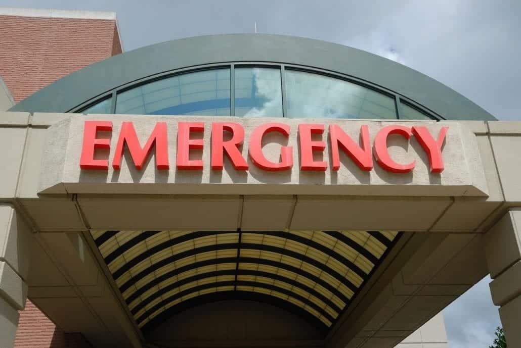 emergency entrance hospital