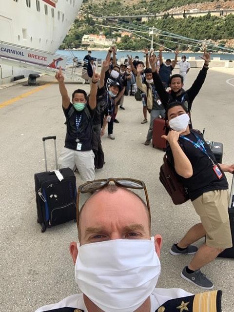 Carnival Dubrovnik crew repatriation