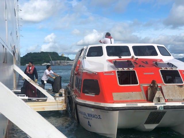 Carnival Panama crew repatriation