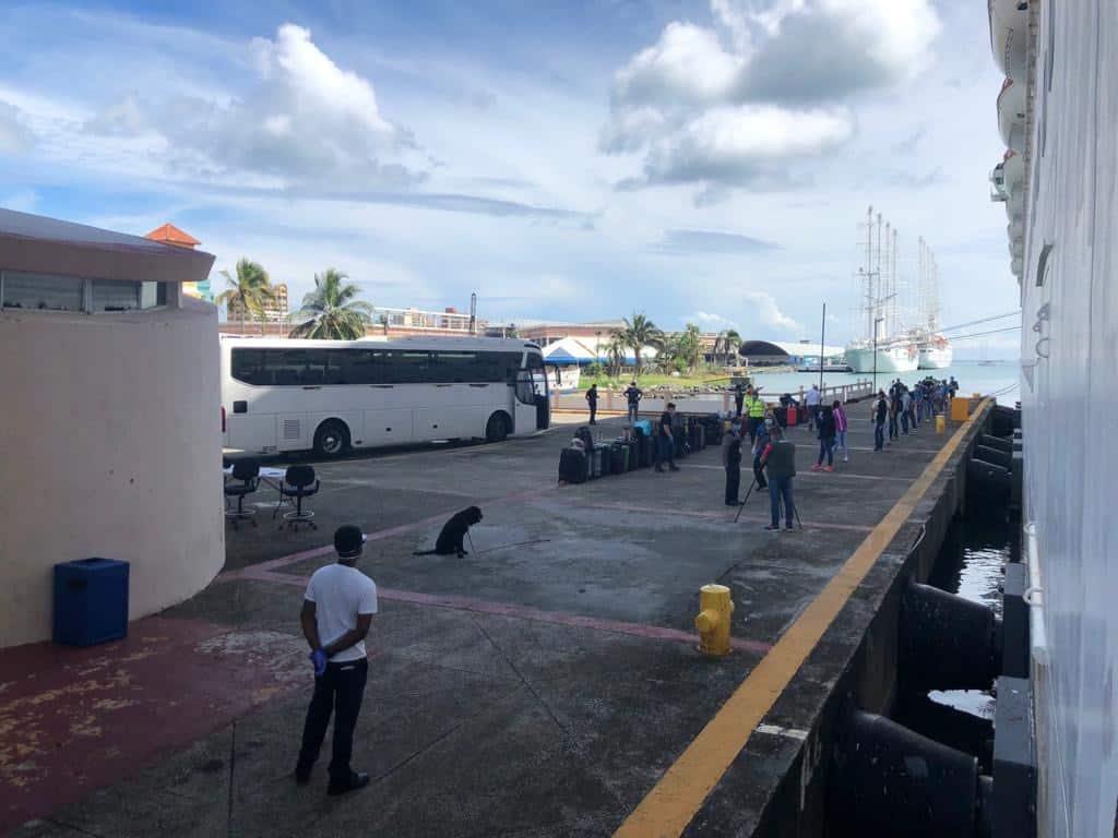 Carnival repatriation panama