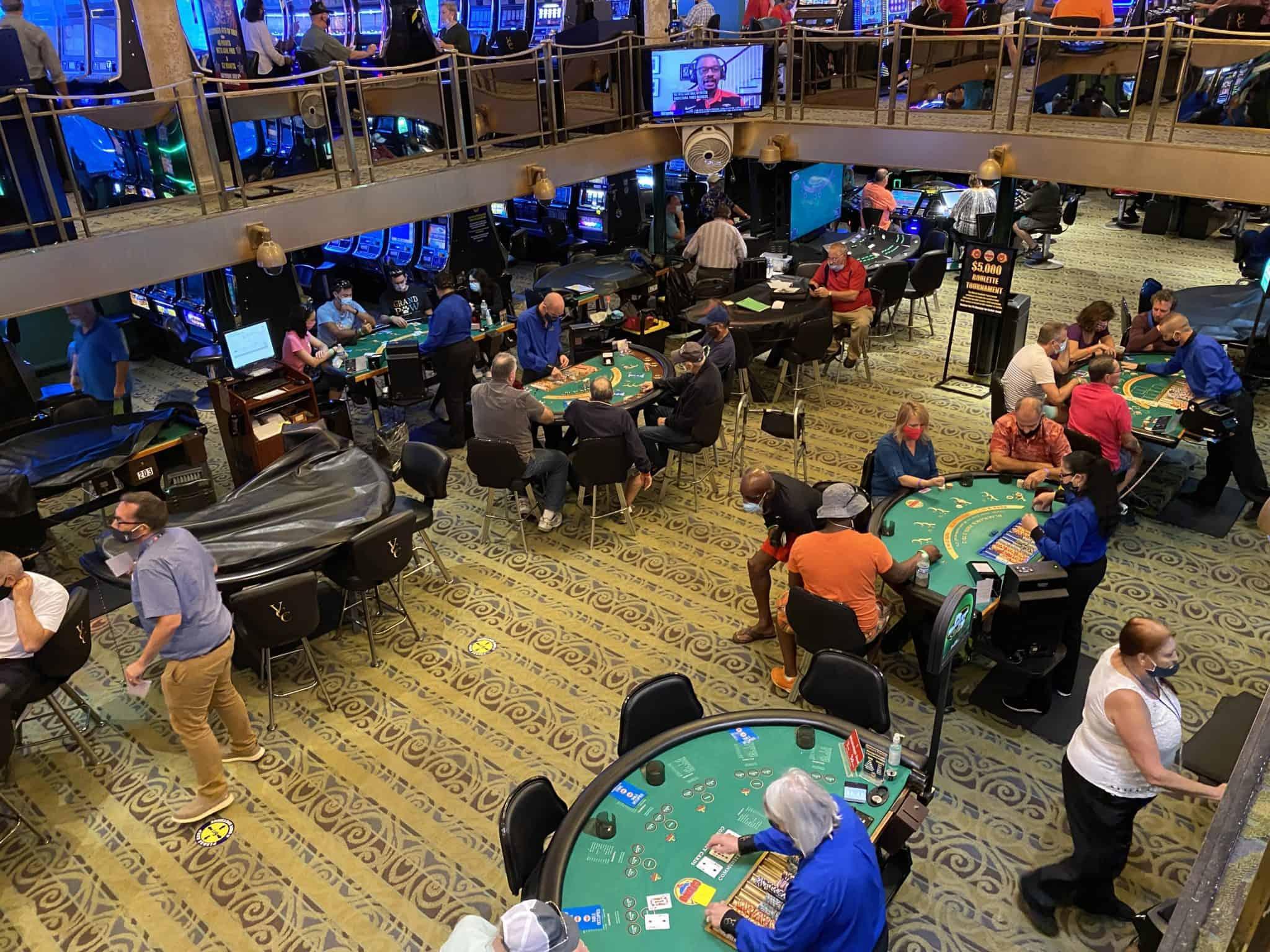 victory cruise casino floor