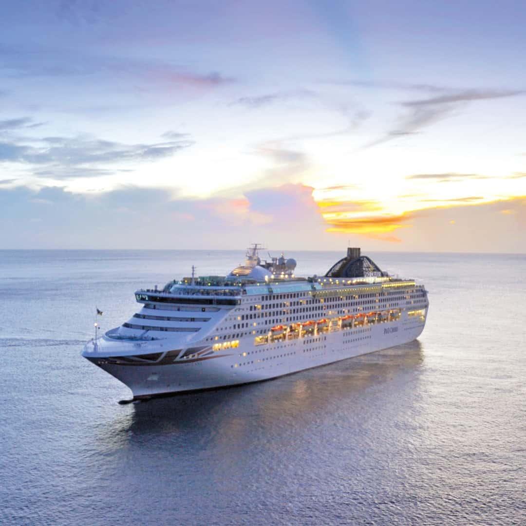 P&O Cruises ship sun princess