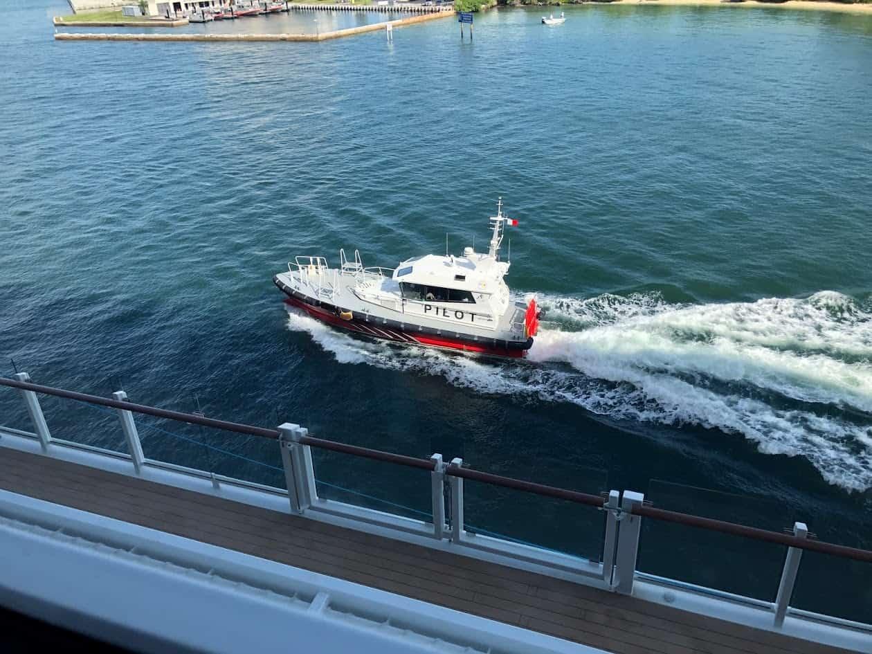harbor pilot cruise