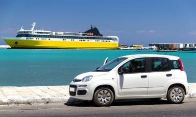 rental car coast ferry