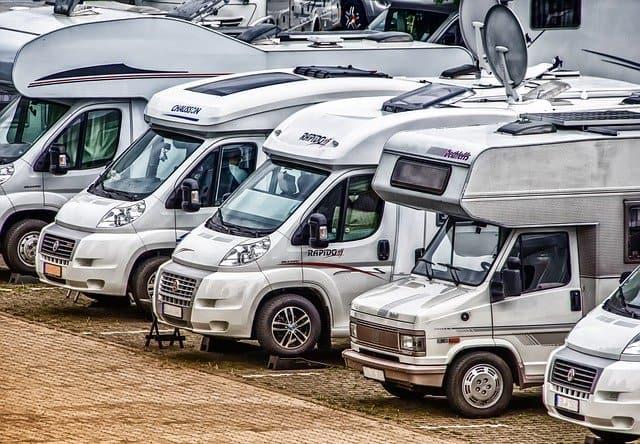 rental van camping