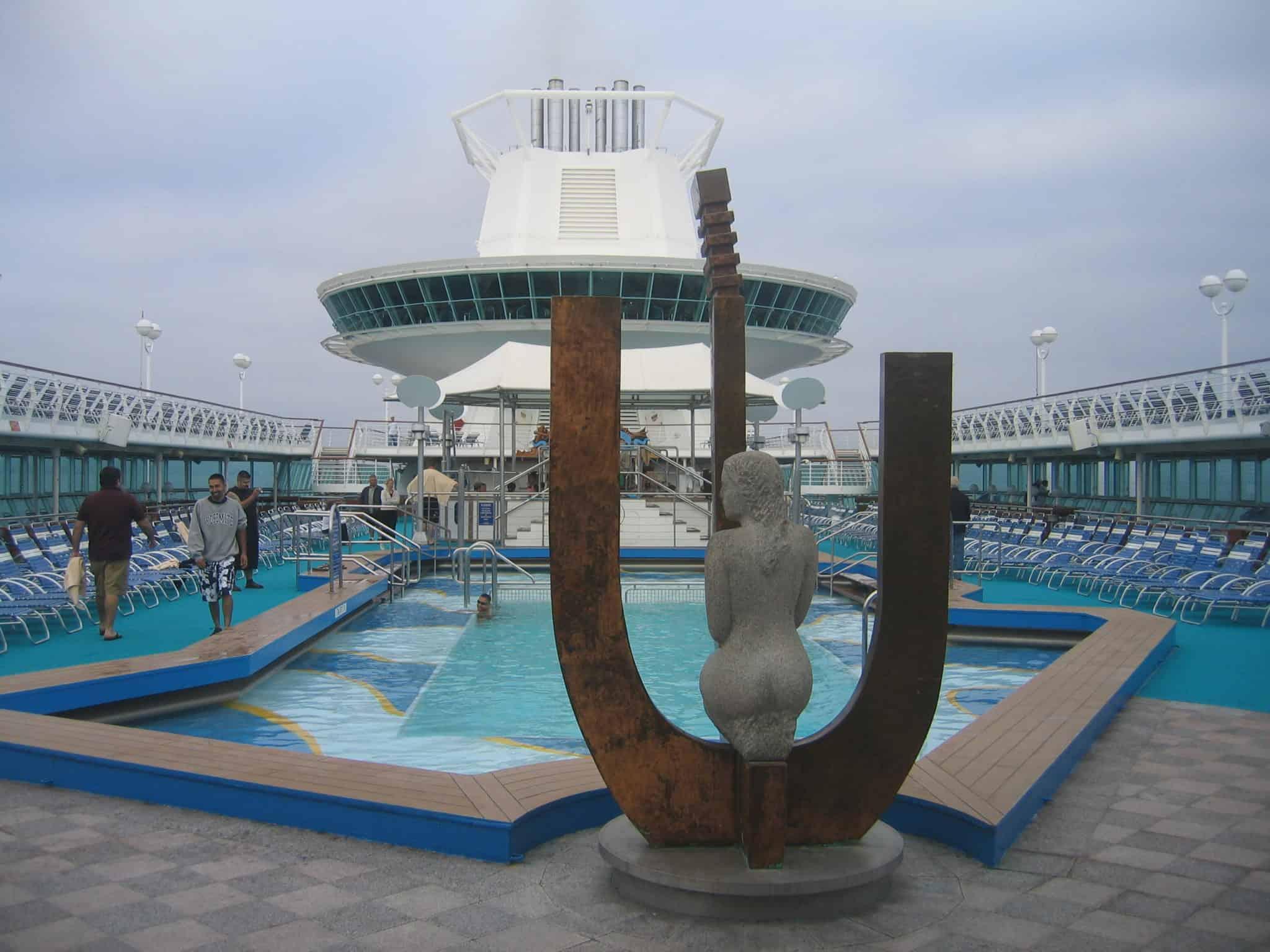 Monarch Lido Pool Royal Caribbean