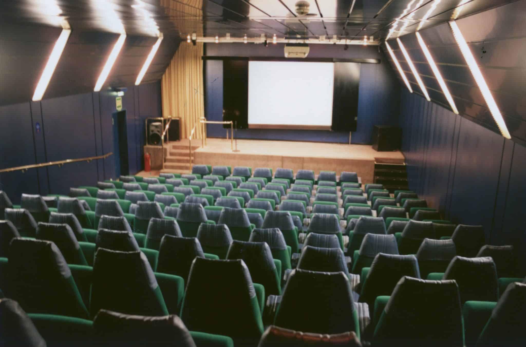movie theater cruise ship