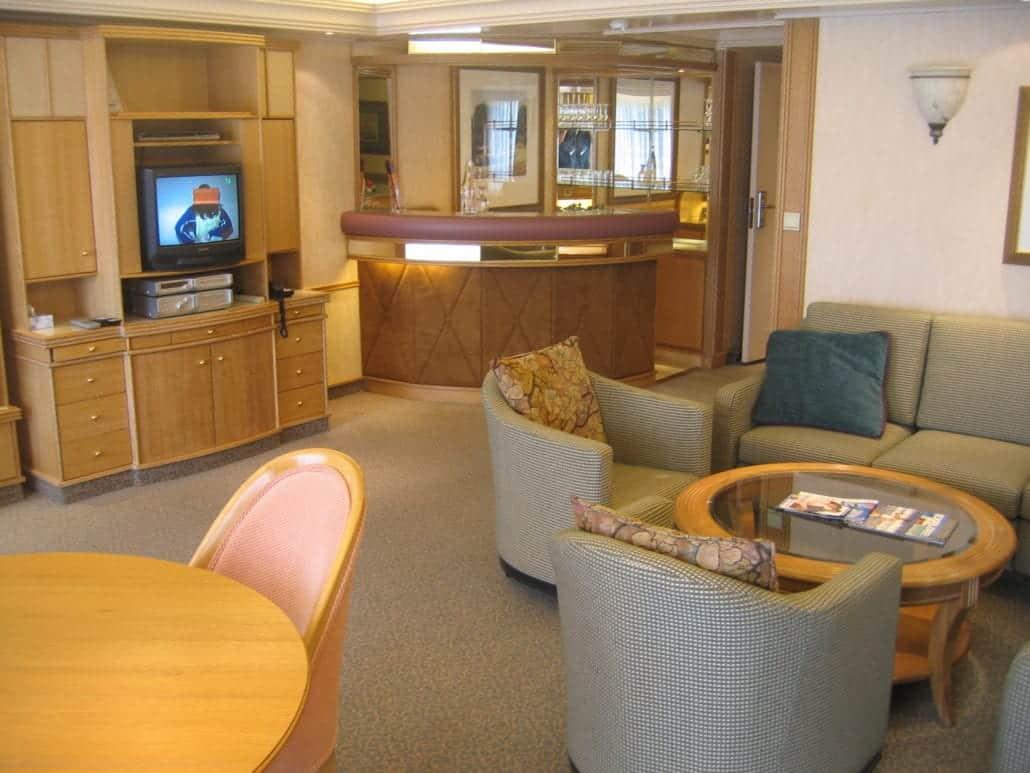 Monarch Suite Bridge Deck Ship