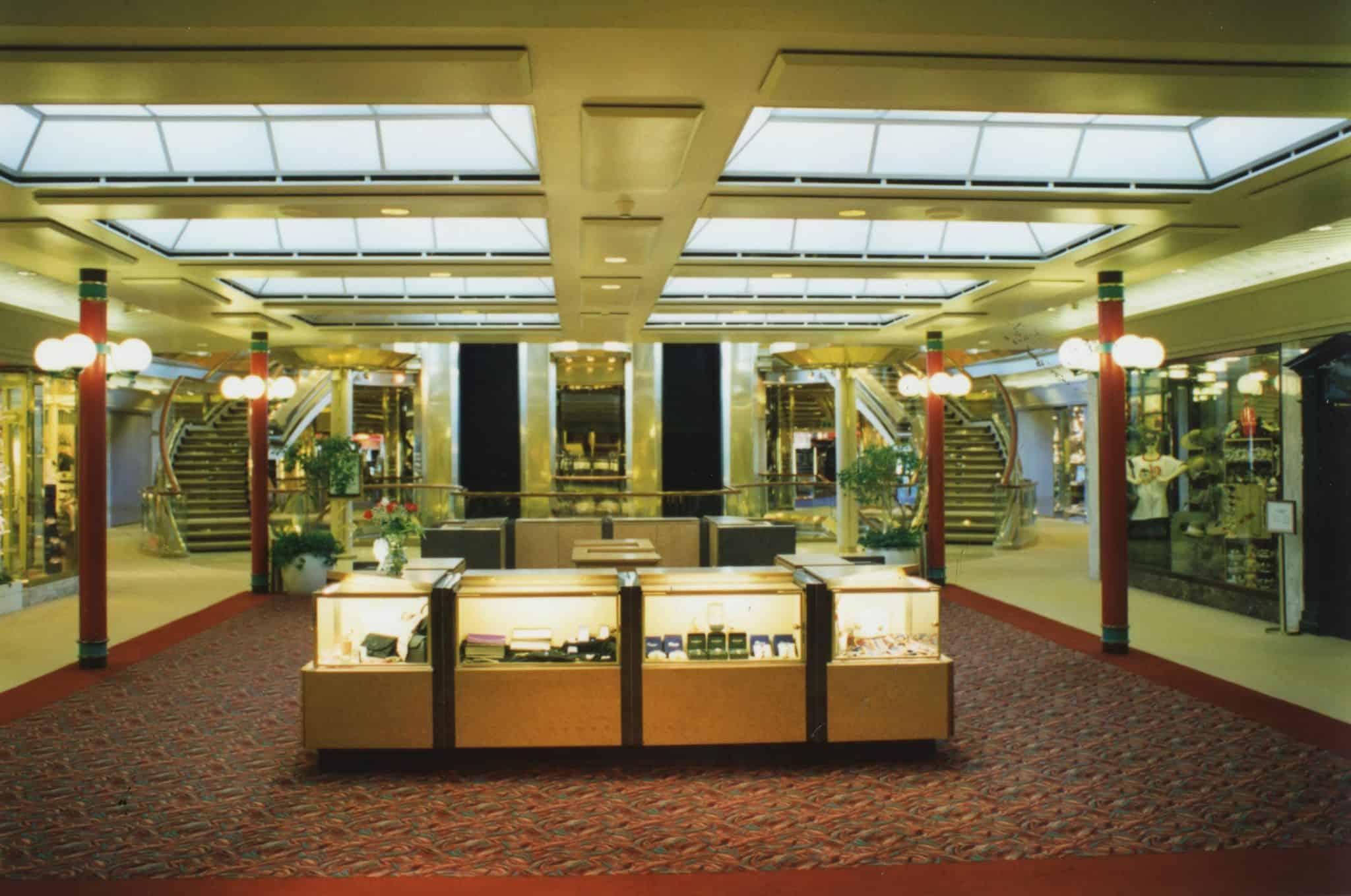 reception area shops