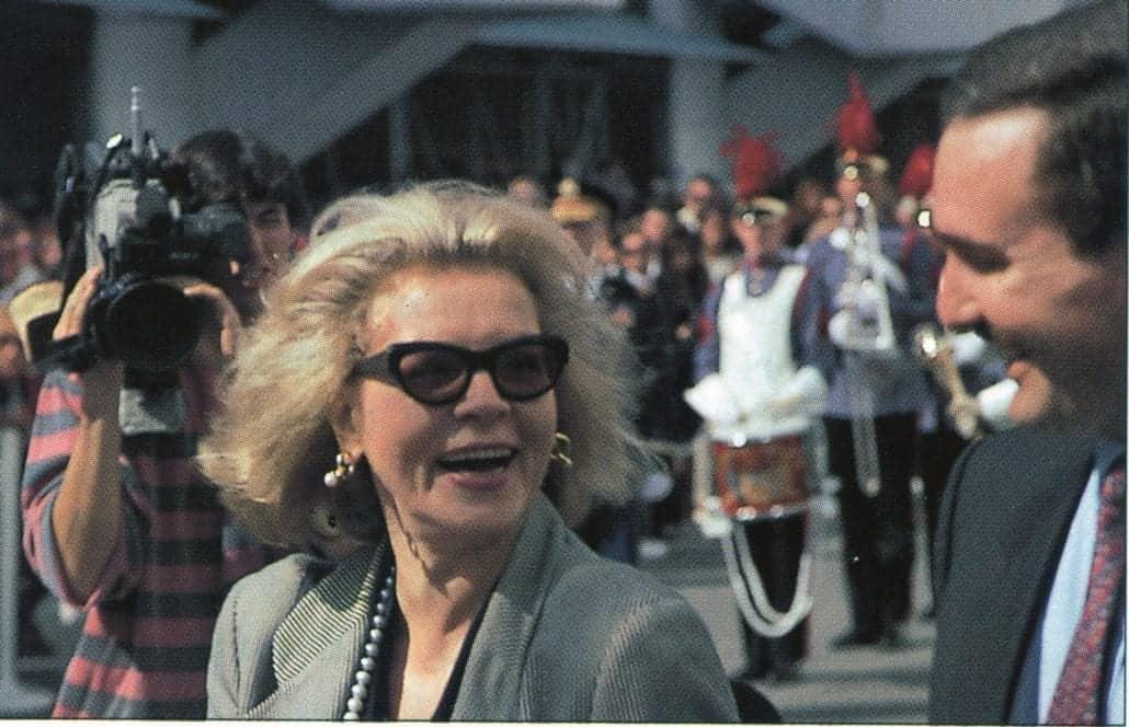 Monarch Lauren Bacall Godmother