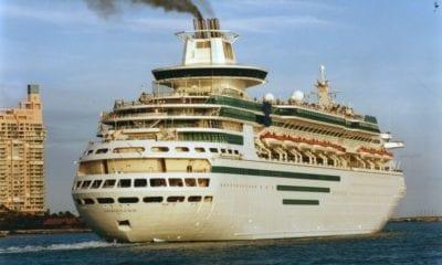 departing portmiami cruise ship