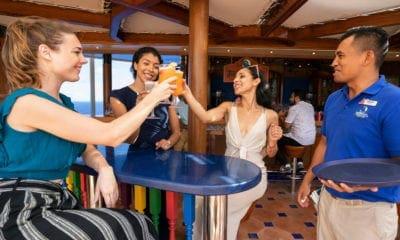 carnival cruise blue iguana tequila bar