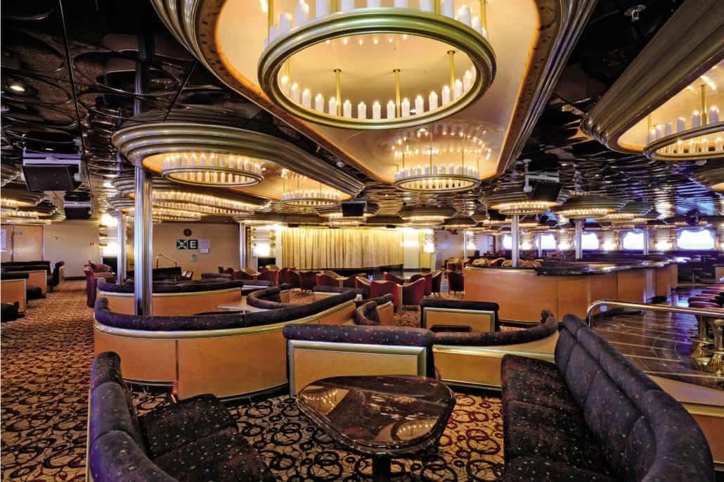 Carnival Inspiration Candlelight Lounge