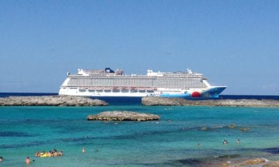 Breakaway off Great Stirrup Cay