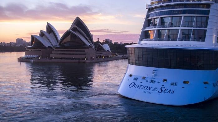 Ovation of the seas australia