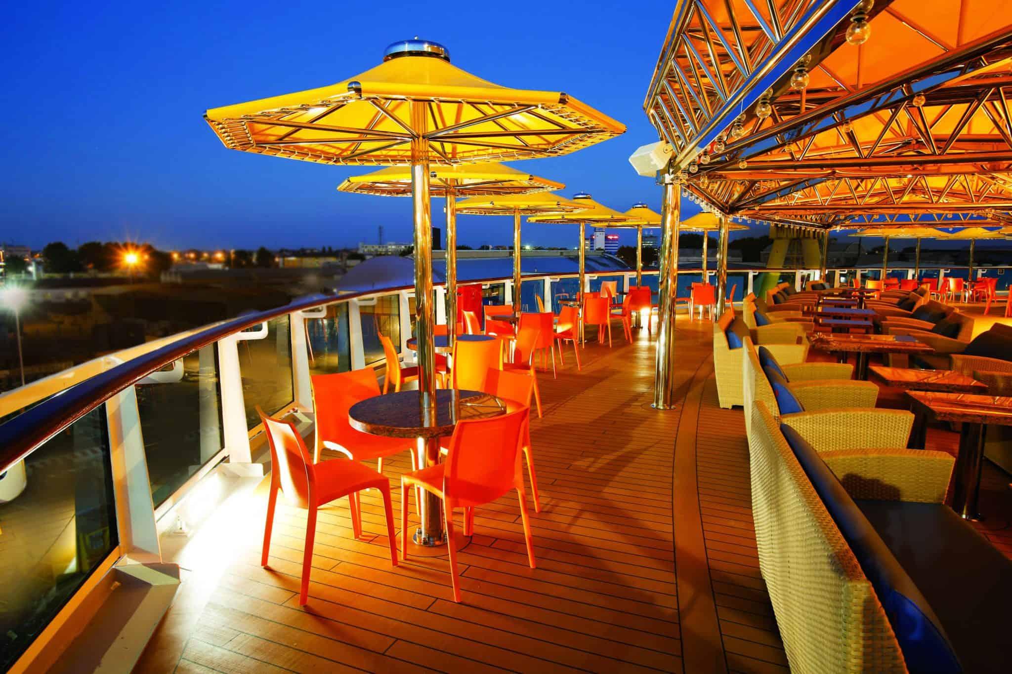 deck costa cruise ship