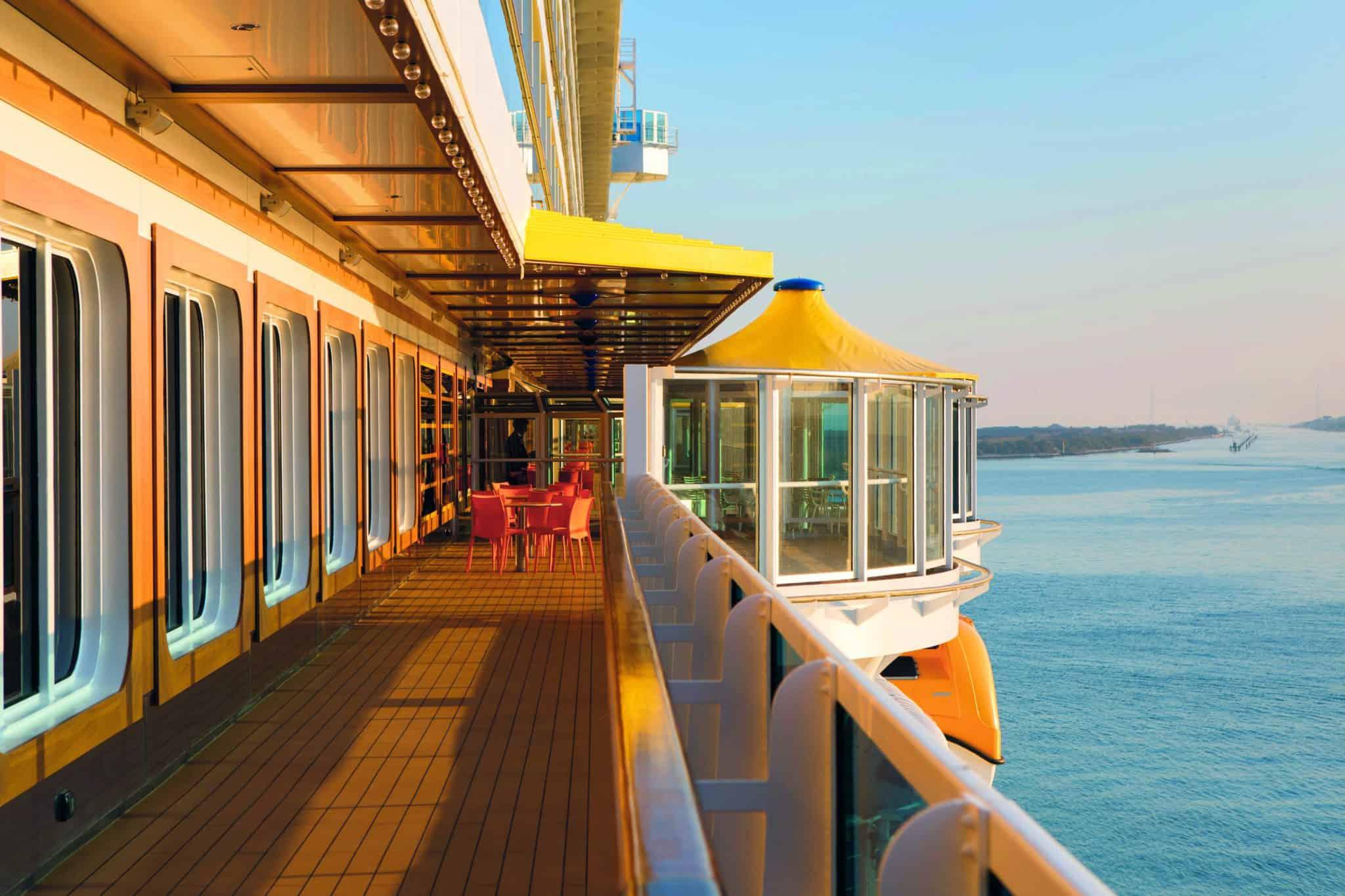 Costa cruises outside ship