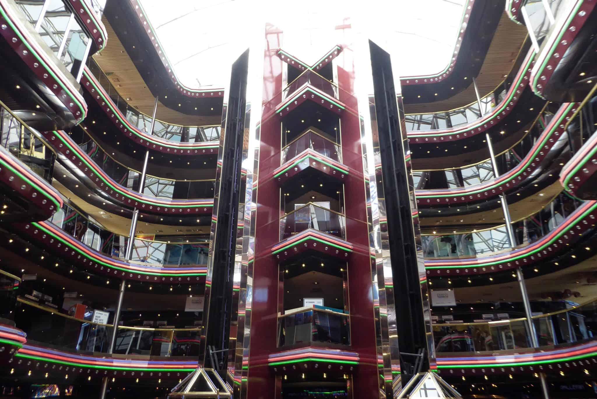 carnival inspiration ship atrium