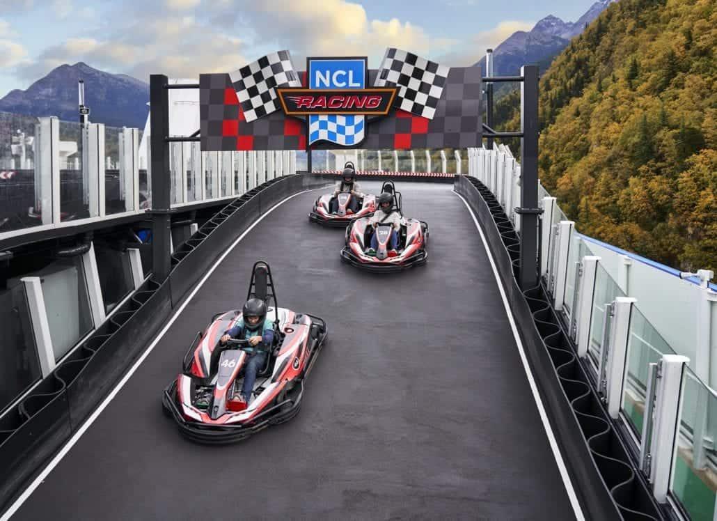 Norwegian Cruise Line Go Karts