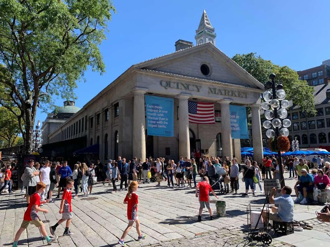 quincy market boston mass