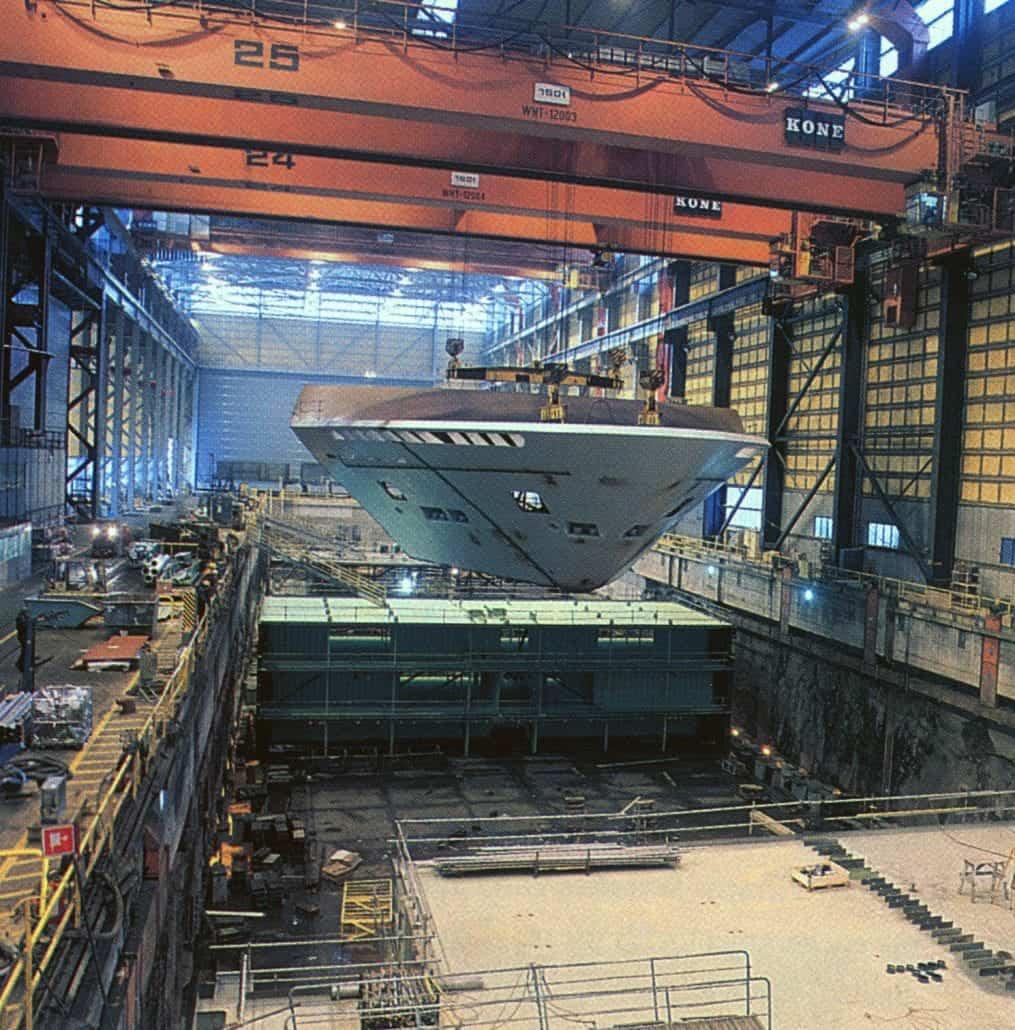 Carnival Imagination Ship Yard