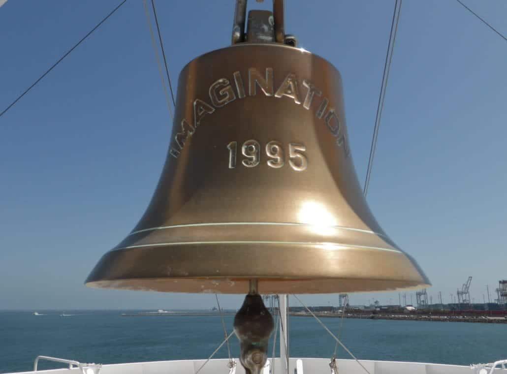 Carnival Imagination Ship Bell