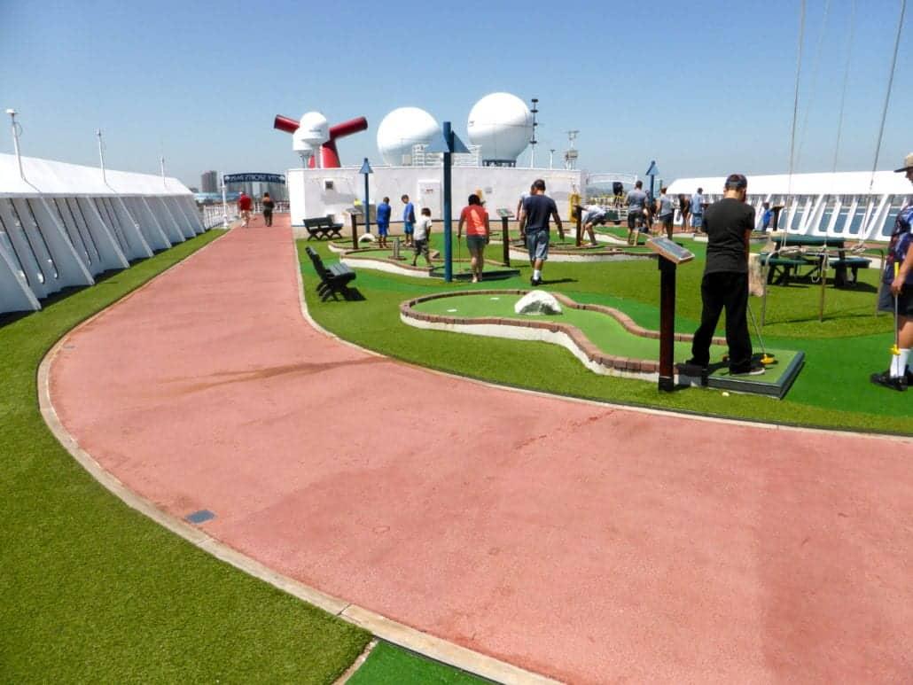 Carnival Imagination Mini Golf