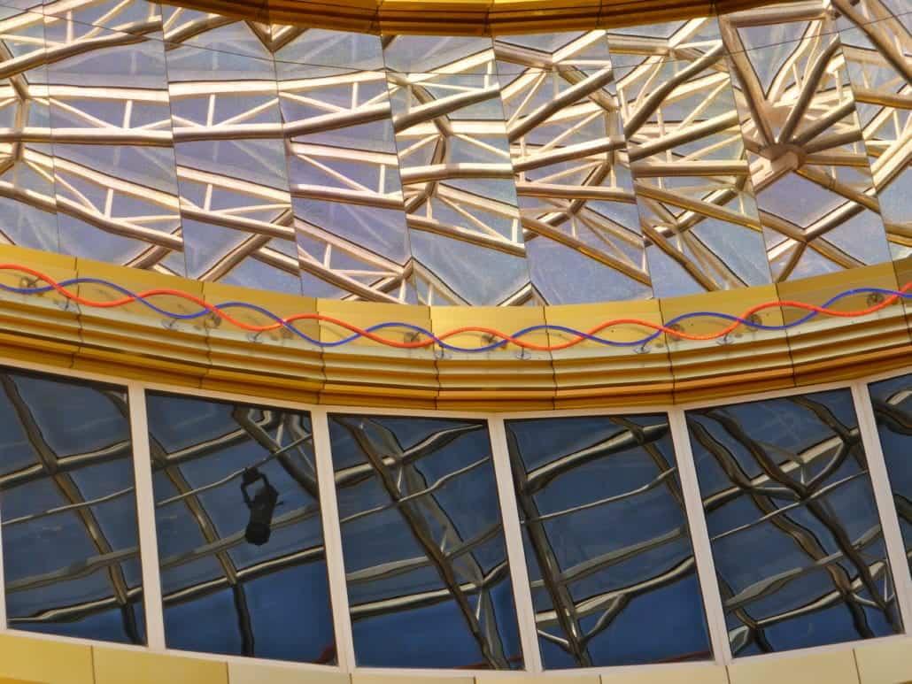 Carnival Imagination Atrium Skylight