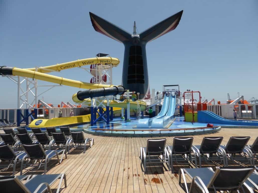 Carnival Imagination WaterWorks Waterpark