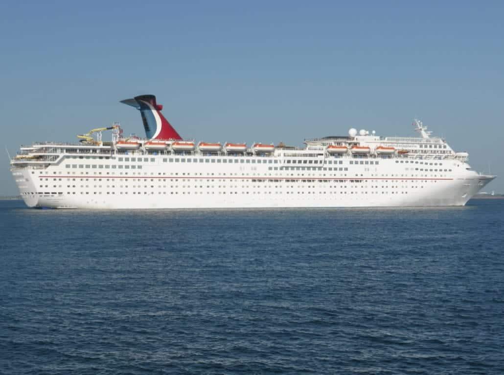 Carnival Imagination Ship Sea