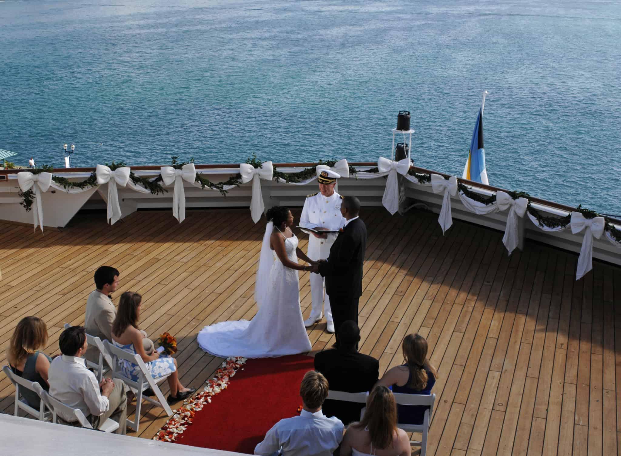 disney cruise wedding captain officiant