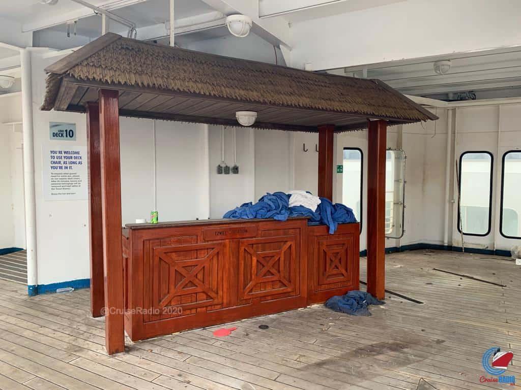 towel hut lido deck carnival fantasy scrapyard