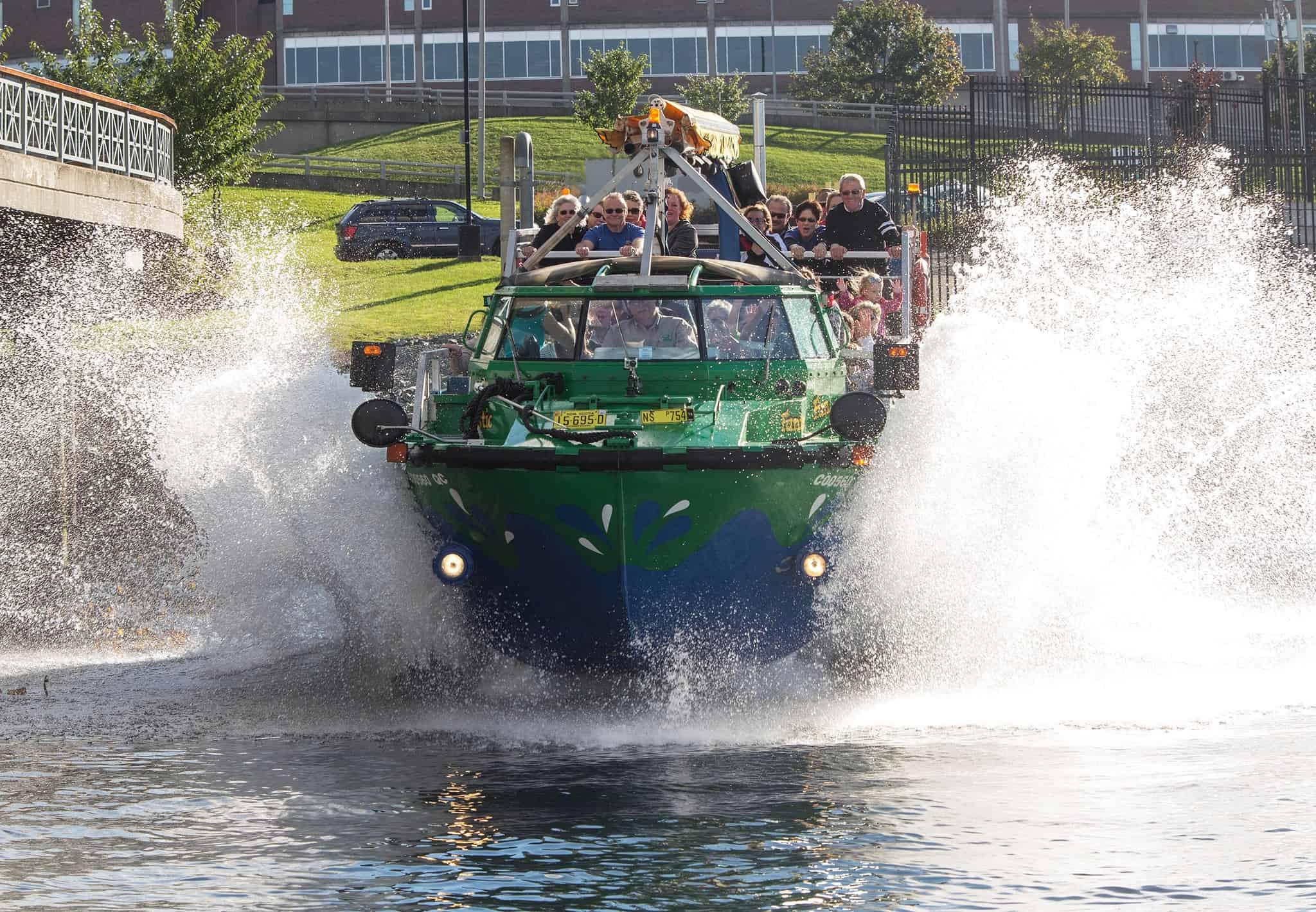 harbour hopper tours halifax nova scotia canada