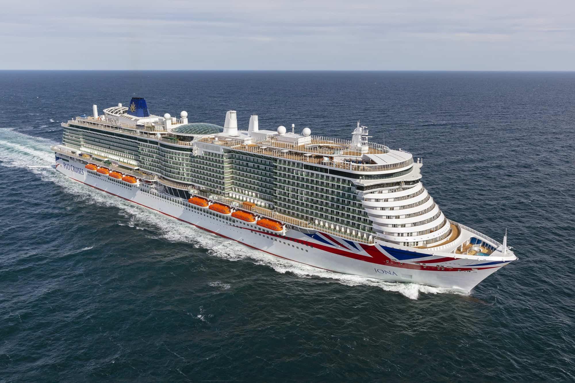 P&O Cruises iona excellence class