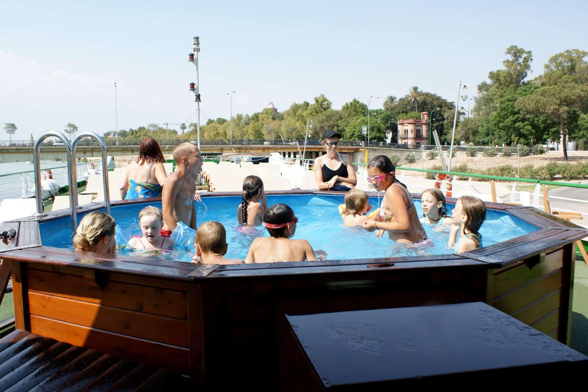 croisieurope hot tub river ship