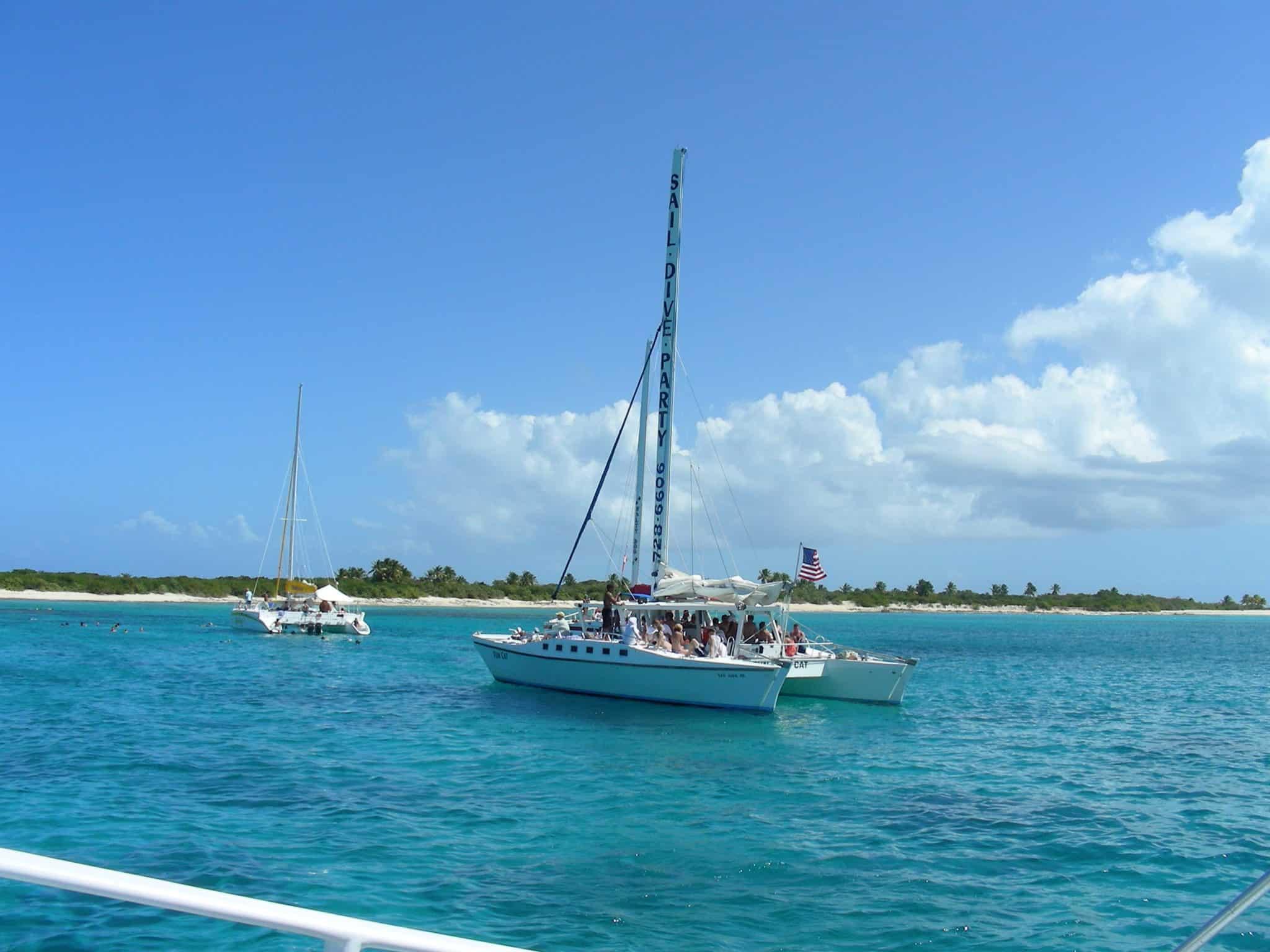 puerto rico boat tour catamaran
