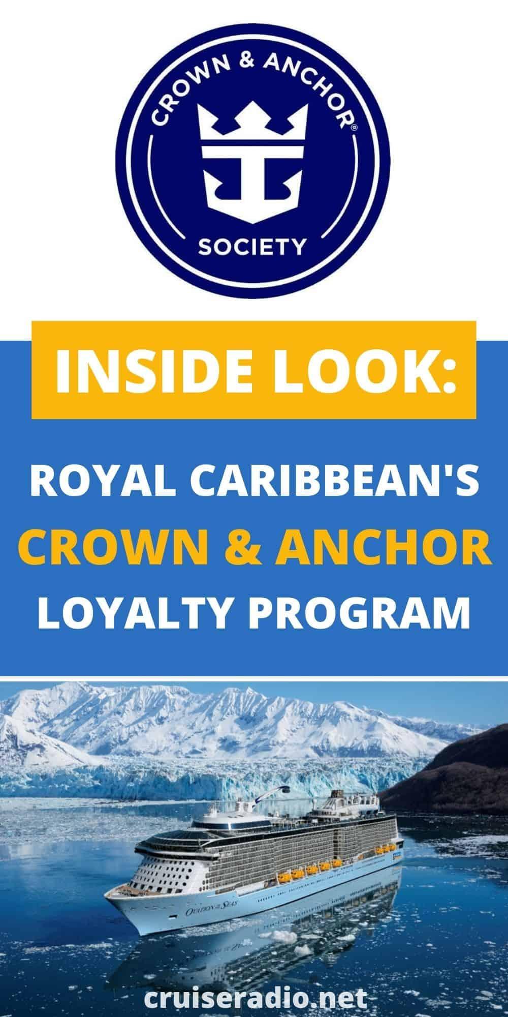 a look at royal royal caribbean international's crown and anchor loyalty program