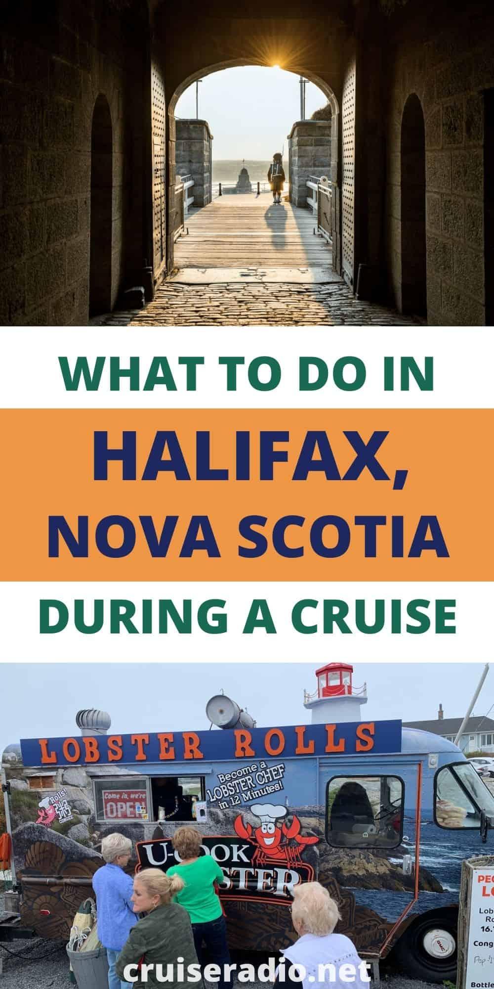 halifax nova scotia cruise what to do