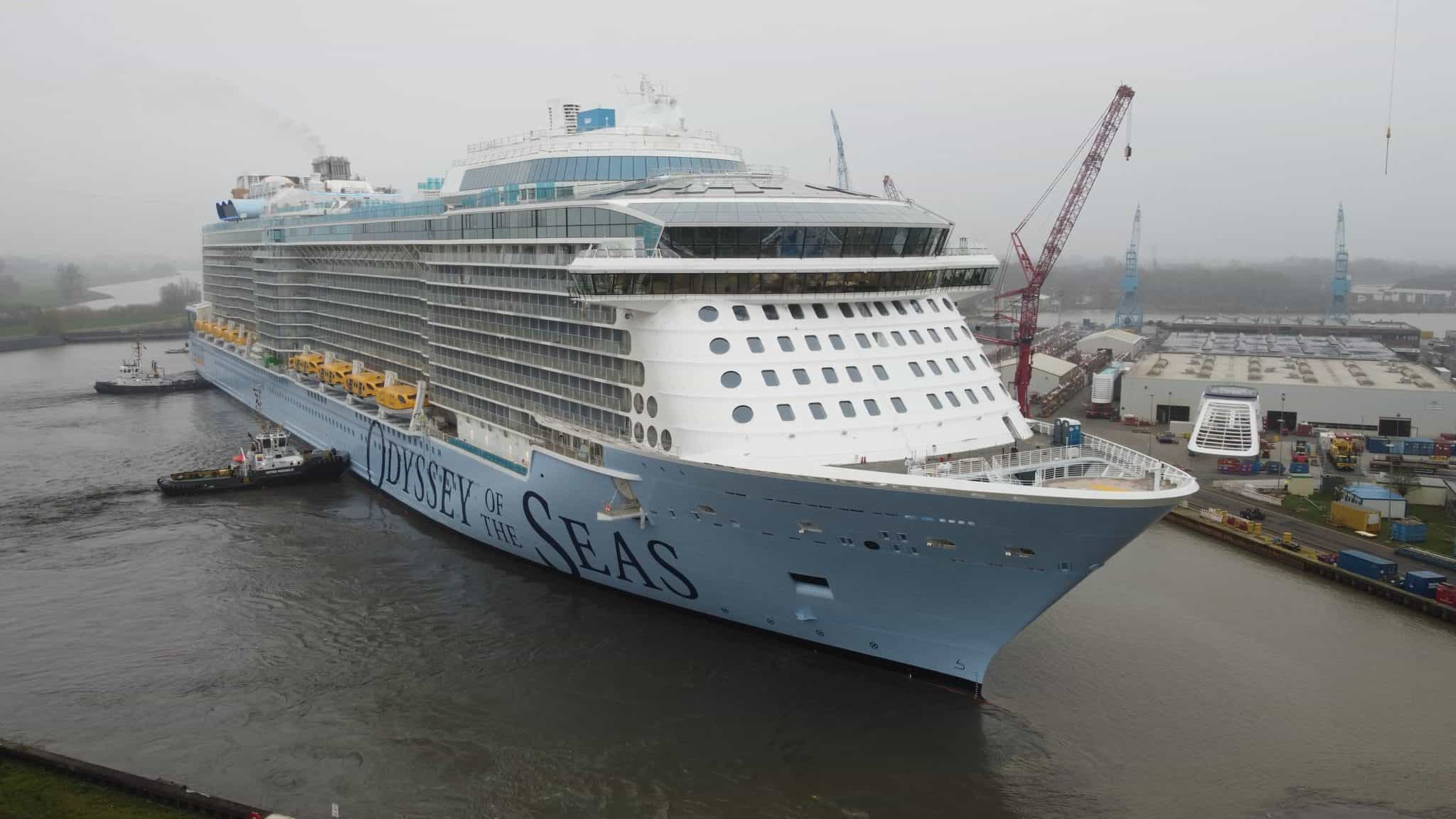 odyssey of the seas floated out