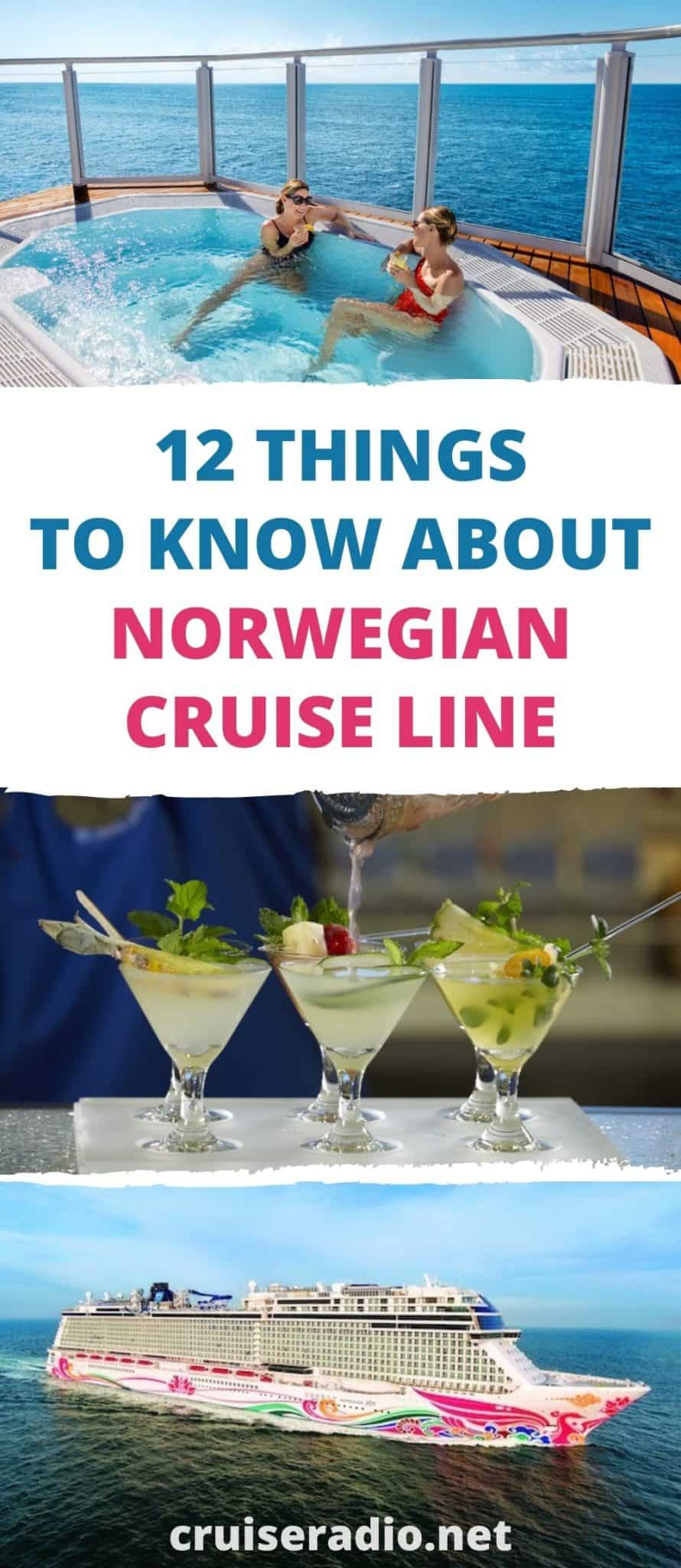 12 things to know about Norwegian cruise line