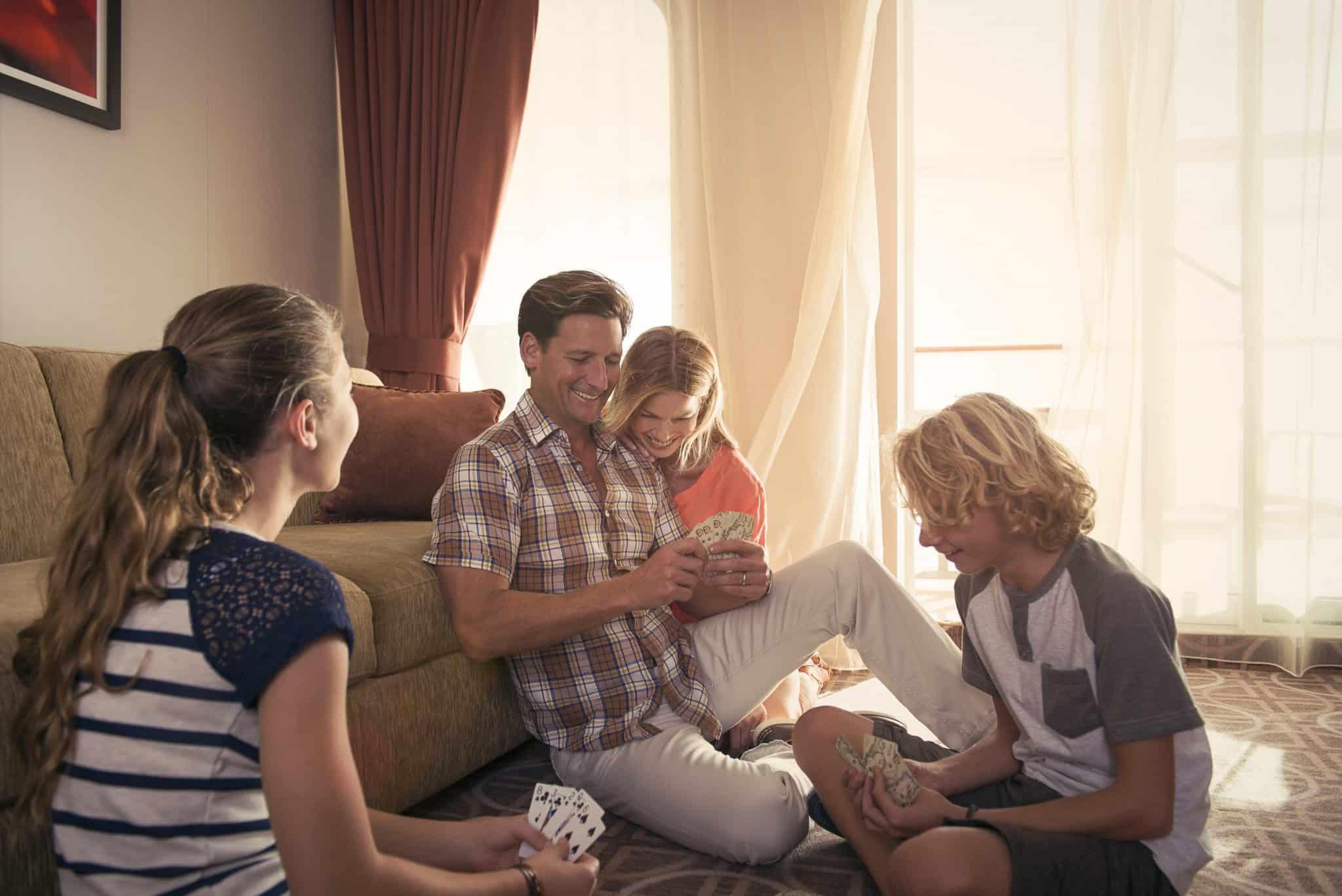 celebrity cruises family cabin
