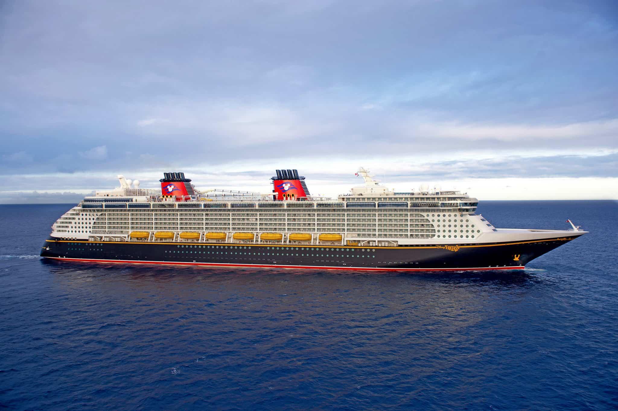 Disney cruise line fantasy aerial